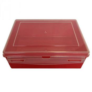 Контейнер пластиковый красный