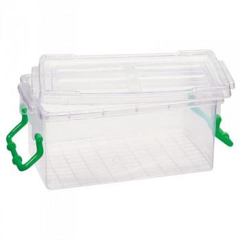 Контейнер пластиковый с фиксатором