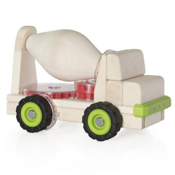 Игрушка Block Science Trucks Большая бетономешалка