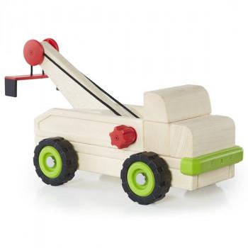 Игрушка Block Science Trucks Большой эвакуатор