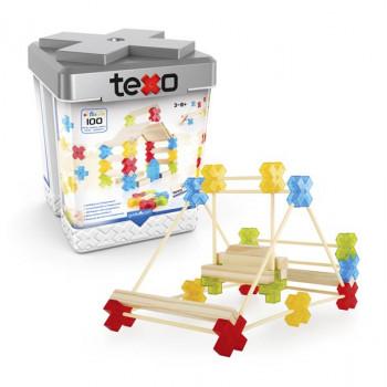 Конструктор Texo, 100 деталей