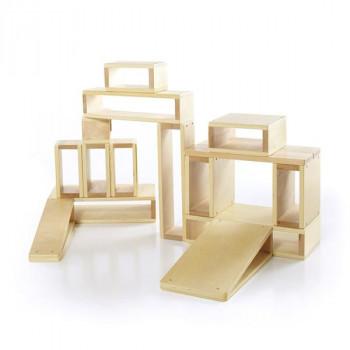 Набор больших полых блоков Block Play, 16 шт.