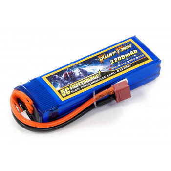 Аккумулятор для страйкбола Giant Power Li-Pol 11.1V 3S 2200mAh 25C...