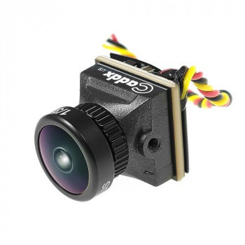 Камера FPV Caddx Turbo EOS2 1200TVL 2.1mm CMOS 16:9 PAL Mini FPV Camera - Черный