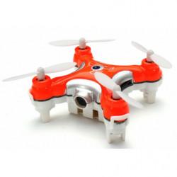 Квадрокоптер нано Cheerson CX-10C с камерой (оранжевый)