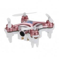 Квадрокоптер нано Wi-Fi Cheerson CX-10W с камерой (розовый)