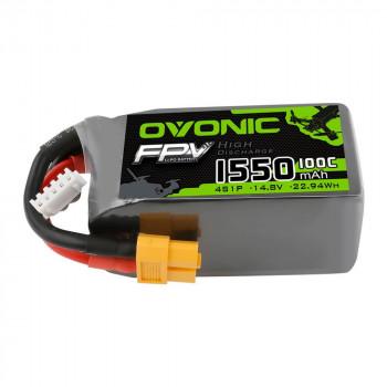 Ovonic Li-Pol 1550mAh 4S 14.8V 100C