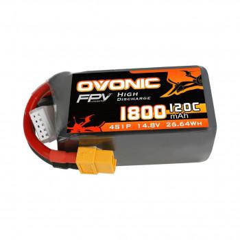Ovonic Li-Pol 1800mAh 4S 14.8V 120C