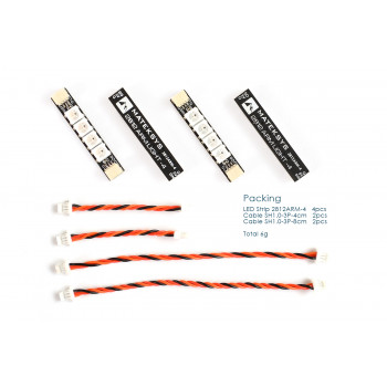 Matek RGB LED Strip 2812ARM-4