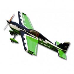 Самолет Precision Aerobatics Extra MX 1472мм KIT (зеленый)