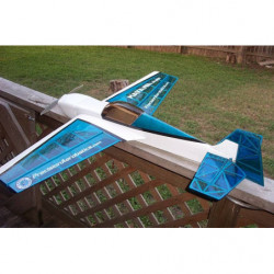 Самолет Precision Aerobatics Katana Mini 1020мм KIT (синий)