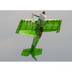 Самолет Precision Aerobatics Addiction 1000мм KIT (зеленый)