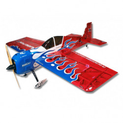 Самолет Precision Aerobatics Addiction X 1270мм KIT (красный)