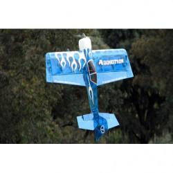 Самолет Precision Aerobatics Addiction 1000мм KIT (синий)