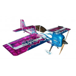 Самолет Precision Aerobatics Addiction XL 1500мм KIT (фиолетовый)