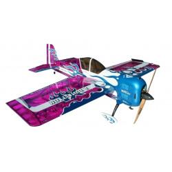 Самолет Precision Aerobatics Addiction XL 1500мм KIT (фиолетовый)