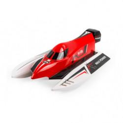 Катер на WL Toys WL915 F1 High Speed Boat бесколлекторный (красный)