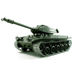 Танк р/у 1:16 Heng Long Bulldog M41A3 с пневмопушкой и и/к боем (HL3839-1)