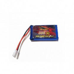 Аккумулятор Dinogy Li-Pol 600mAh 3.7V 1S 65C для Eachine QX90