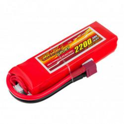 Аккумулятор Dinogy Li-Pol 2200mAh 11.1V 3S 30C 22x36x110мм T-Plug