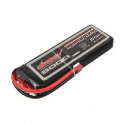 Аккумулятор Dinogy Li-Pol 8000mAh 11.1V 3S 25C 25x60x175мм T-Plug