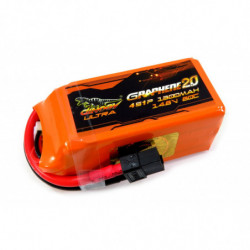 Аккумулятор Dinogy ULTRA G2.0 Li-Pol 1300mAh 14.8V 4S 80C XT60