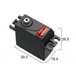 Сервопривод стандарт 52г BATAN D227F 15.5кг/0.09сек металл цифровой