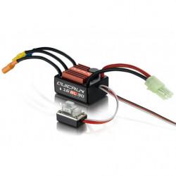 Регулятор HOBBYWING QUICRUN 16BL30 30A 2-3S влагозащищенный для автомоделей