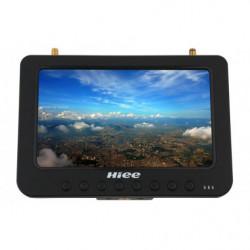 "Дисплей HD FPV 7"" HIEE HDRM808 1024x600 с двумя приёмниками 5.8GHz 32 канала..."
