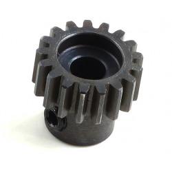 Пиньон HOBBYWING 17T 0.8M (32 pitch) 5mm из хромированной стали