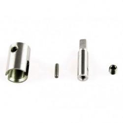 Чашка и приводной вал дифференциала LC Racing для моделей 1/14 металл (LC-6013)