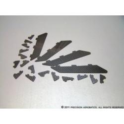 Завихрители PA Addiction XL карбоновые комплект 20шт