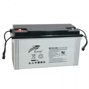 Аккумуляторная батарея глубокого разряда AGM RITAR DC12-120, Gray Case, 12V...